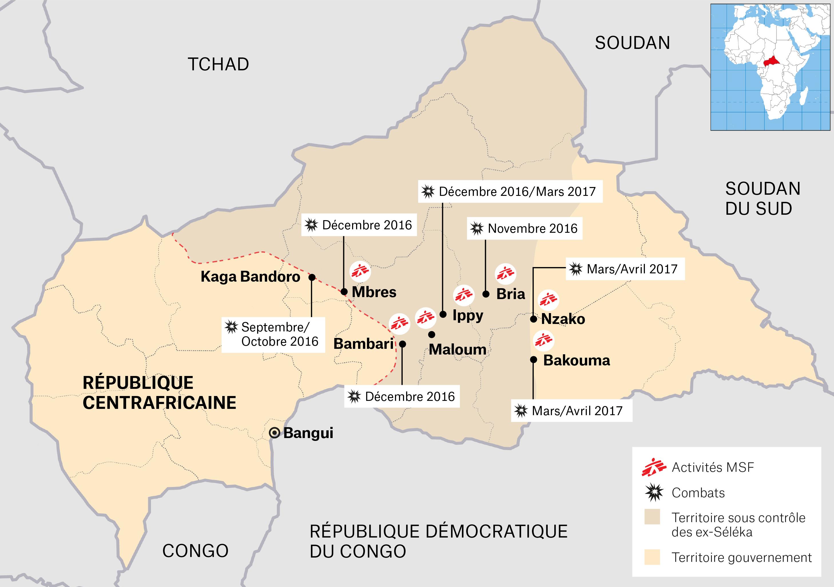 L'intervention de Médecins Sans Frontières face à la reprise des combats